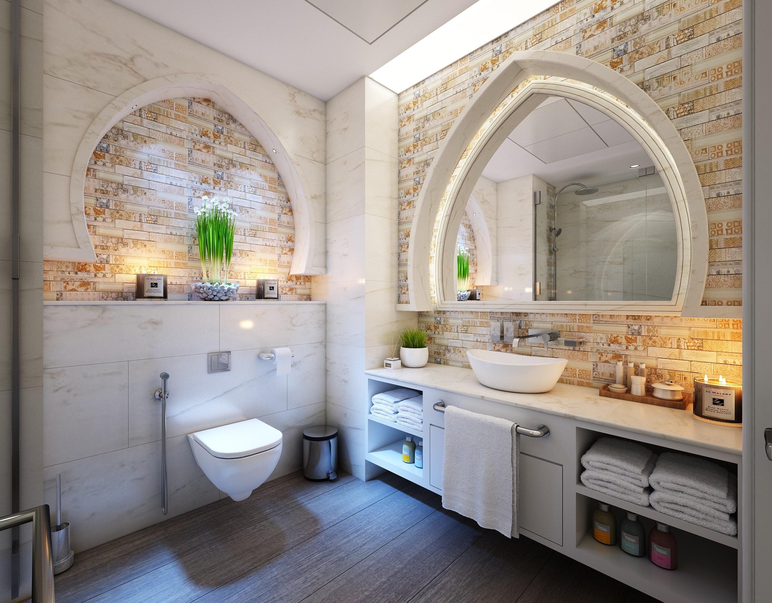 La cisterna empotrada, una solución para cualquier cuarto de baño