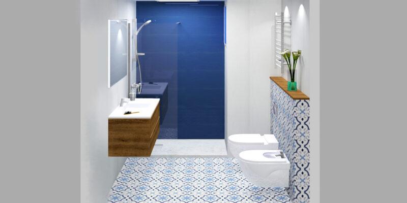 Azulejos y pavimentos. La regla del 60-30-10