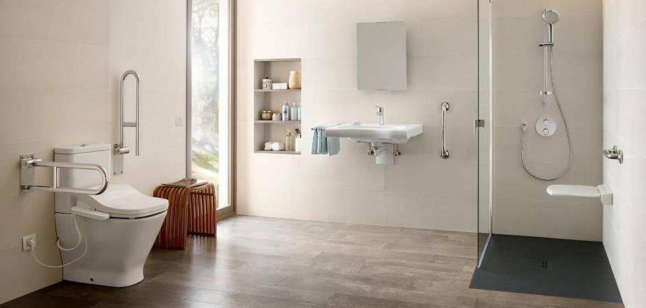 Claves a tener en cuenta para adaptar un baño apersonas con movilidad reducida